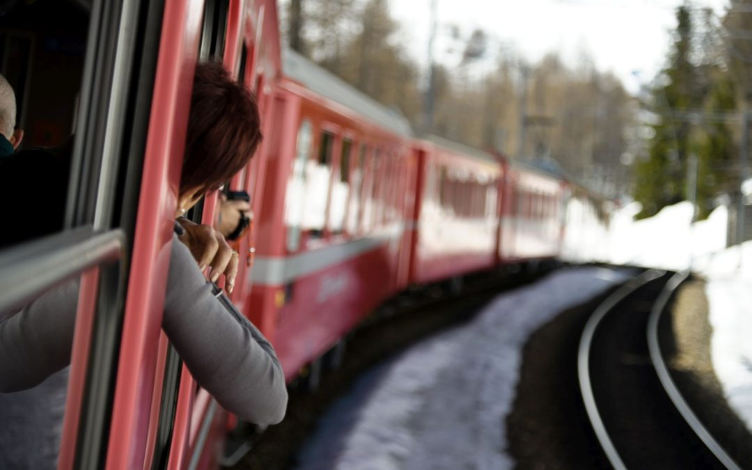 Trenino Rosso del Bernina e St. Moritz