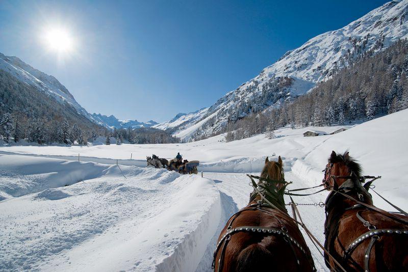 Trenino Rosso del Bernina e Val Roseg