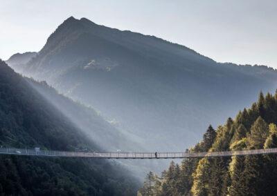 Bassa Valtellina e ponte nel cielo