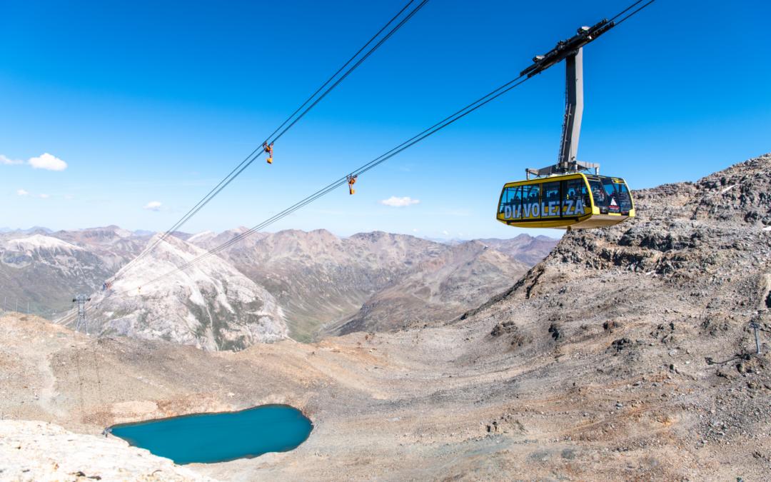 Trenino Rosso del Bernina e funivia Diavolezza con pranzo al rifugio 6 giugno 2021