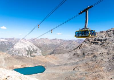 Trenino Rosso del Bernina e rifugio Diavolezza