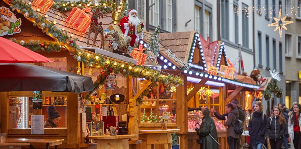 Trenino Rosso e mercatini di Natale a Coira