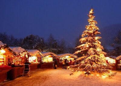 Trenino Rosso e mercatini di Natale a Livigno