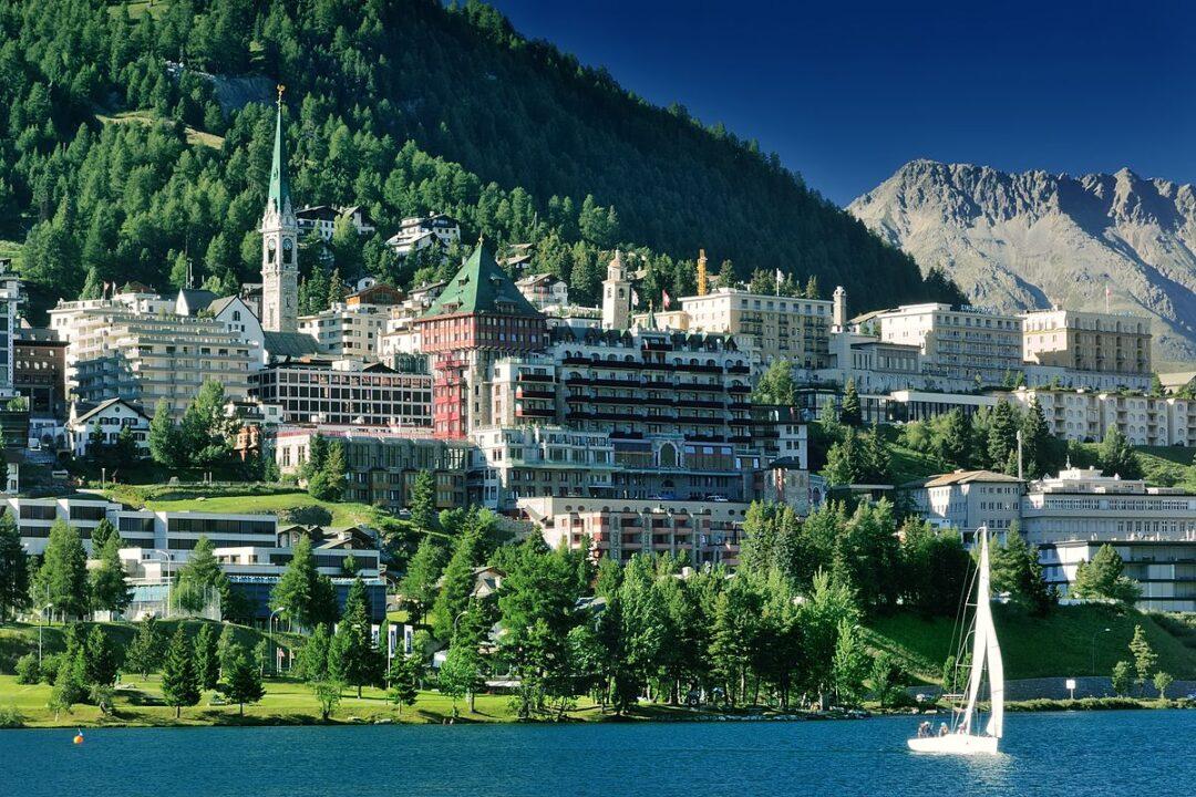 Trenino Rosso del Bernina e St.Moritz 11 luglio 2021
