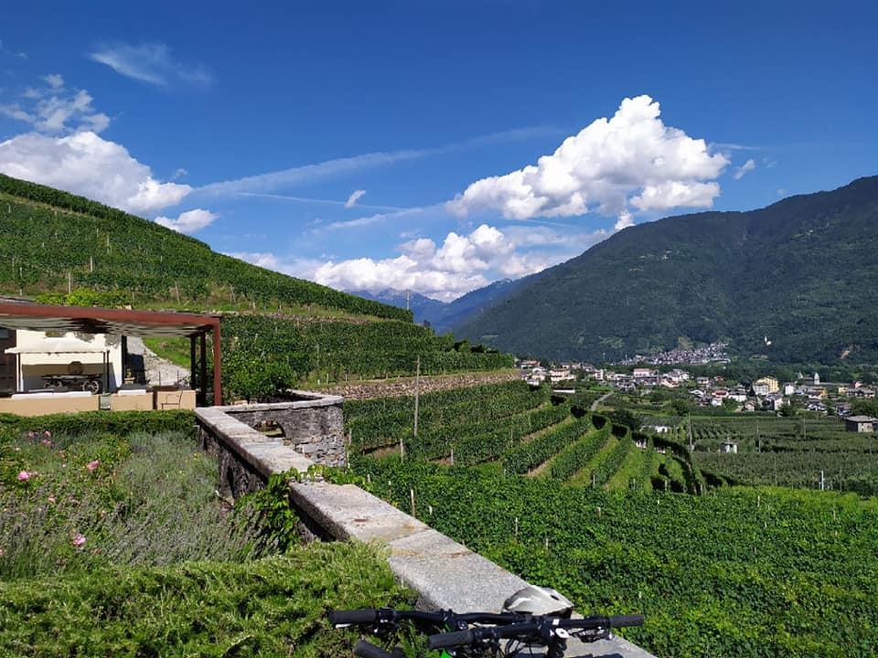 In bici in Valtellina - Visit va